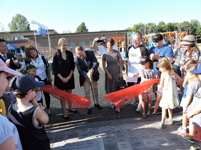 Ledbury Park Ribbon Cutting